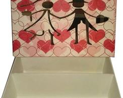 Caixa Padrinhos (mini Chandon e ta�a)