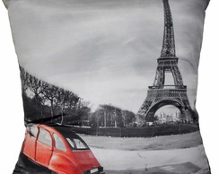 ALMOFADA VINTAGE - PARIS END RED CAR