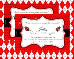 Arte Convite Joaninha
