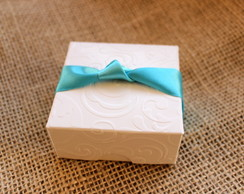 Caixa Bem Casado Lembrancinha Tiffany