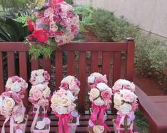 Kit festa jardim encantado rosa&pink II