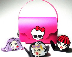 Bolsa Monster High 3D