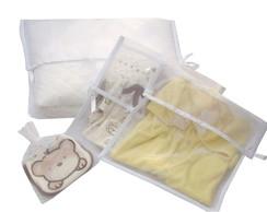 Kit Envelope Organza para Maternidade