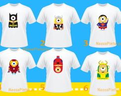 Camiseta Minions Herois
