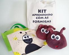 kit Aprendendo com as Formigas