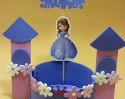 Enfeites de mesa Princesa Sofia