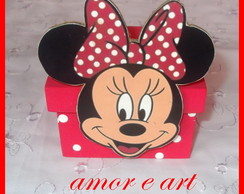 Caixa decorada Minnie