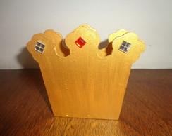 Porta Guardanapos Coroa Real