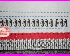 Pano de prato Pinguins 2
