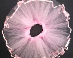 tutu bailarina fita rosa