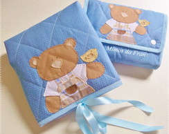 Kit Passeio Urso com abelha 2 pe�as