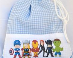 Toalha infantil personalizada VIngadores