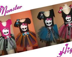 Fantasia De Tutu Monster High (cleo, Lag