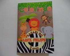 Revista Colorir Safari