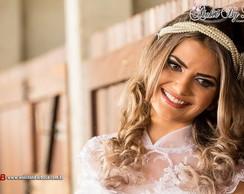 Tiara de noiva em p�rolas