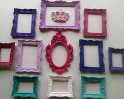 Decora��o Princesa-Espelhos/vidros