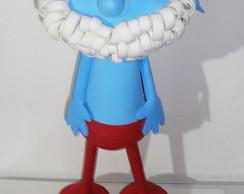 Papai Smurf - Enfeite de mesa