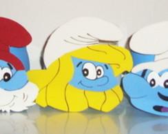 Lembrancinha Smurfs