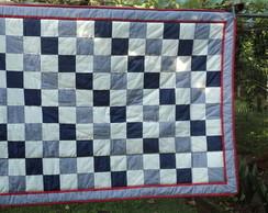 Edredon em patchwork