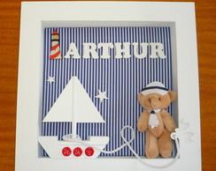 Porta Maternidade Ursinho Marinheiro
