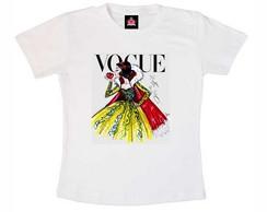 T-shirt Infantil Branca de Neve