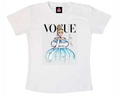 T-shirt Infantil Cinderela