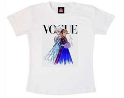 T-shirt Infantil Frozen