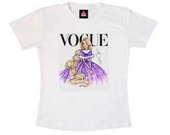 T-shirt Infantil Rapunzel