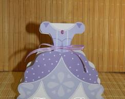 Caixa vestido Princesa Sophia