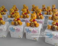 Caixinhas Ursinho Pooh para g�meos