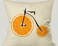 Almofada Orange Bike (Capa)