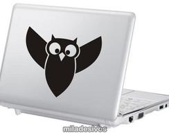 Adesivos de notebook coruja