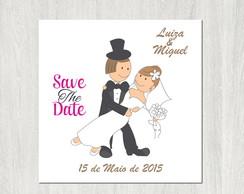 Save The Date - Arquivo Para Imprimir