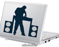Adesivos de notebook DJ