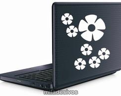 Adesivos de notebook flores