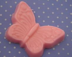 sabonete em forma borboleta rosa