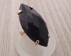 Anel Pedra das Estrelas Semi J�ia