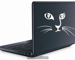 Adesivos de notebook gatinho
