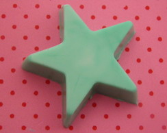 sabonete mini de estrela  verde 5x5