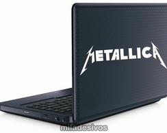 Adesivos de notebook metallica