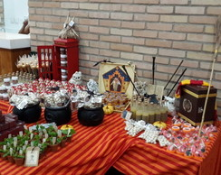 Mesa de Doces Harry Potter