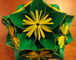Kusudama Morning Glory Gd.