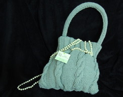 mini gray purse