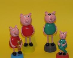 Miniaturas - Peppa Pig, fam�lia e amigos