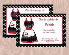 Arte Convite Ch� de cozinha
