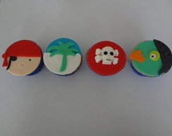Cupcakes Piratas do Caribe
