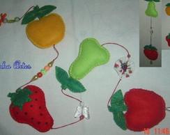 Pingente para cortina frutas