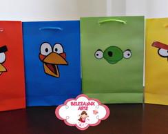 Sacolas personalizadas Angry Birds