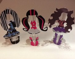 Tubete 3D Monster High
