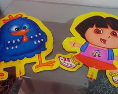 Bal�o Decorativo Dora e Galinha